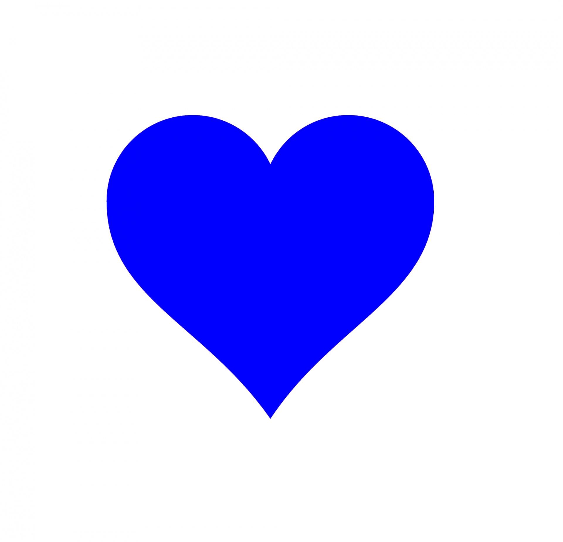 Širdis, širdis, vaizdas, mėlynas, mėlyna širdis - nemokamos ...
