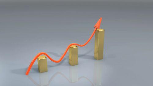 verslas, sėkmė, laimėti, diagrama, rodyklė, augimas, finansai, grafikas & nbsp, pinigai, turgus, diagramos sėkmė