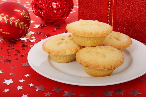 Britanija, šventė, Kalėdos, gruodžio mėn ., desertas, Anglų, šventinis, maistas, mėsa, noel, kepiniai, pyragas, plokštė, raudona, saldus, tradicinis, xmas, menkės pyragai