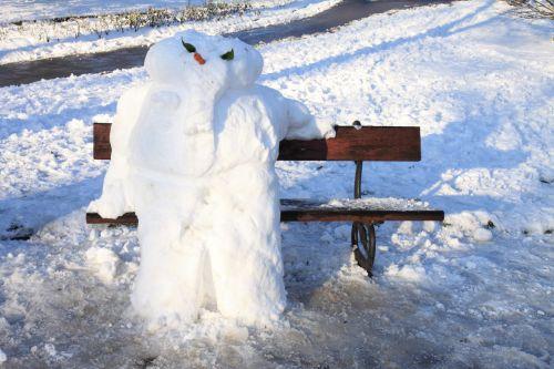 stendas, Kalėdos, šaltas, linksma, ledas, sezonas, sėdi, sėdėti, sėdi, sniegas, sniego senis, žiema, sėdi sniegas