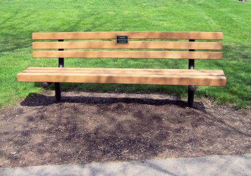 stendas, parkas, objektas, parko suoliukas