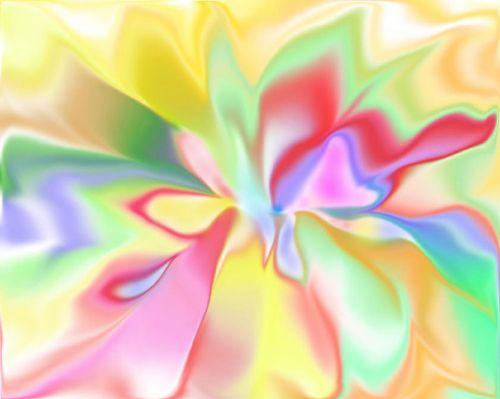 gėlė, dvasia, formavimas, spalvos, gėlių dvasia