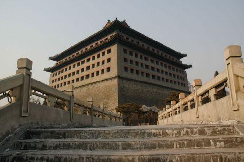 pastatai, kinai, klasikinis, architektūra, klasikinė kinų architektūra