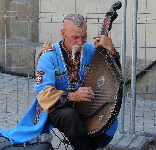 muzikantas, muzika, žmonės, gatvė, žaisti, gatvės muzikantas