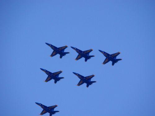 lėktuvas, oras, orlaivis, dangus, formavimas, eskadra, kariuomenė, Rodyti, kariuomenė