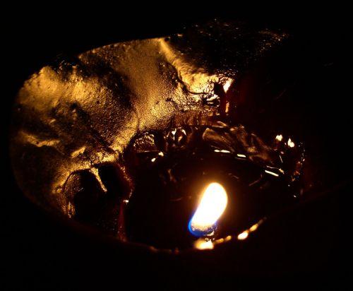 liepsna, žvakė, vaškas, šviesa, liepsna