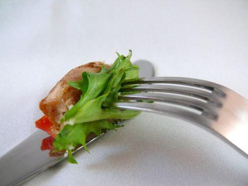 pietūs, peilis, šakutė, salotos, pomidoras, šviežias, maistas, stalo įrankiai, pietūs