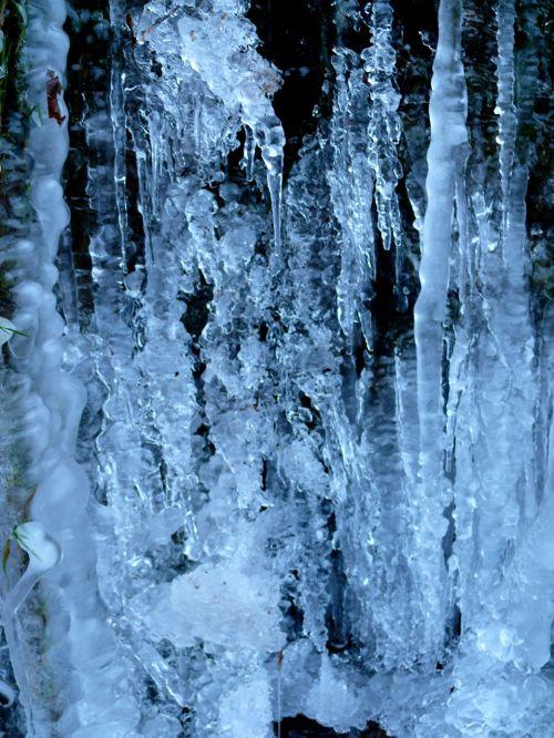 ledas, žiema, šaltas, oras, kriokliai, vanduo, užšaldė, sušaldyta, gamta, gražus, Saunus, šaldiklis, šaldytuvas, ledkalnis, polar, kriokliai