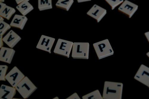 Scrabble, žodis, pagalba, linksma, žaidimas, patalpose, Pirmas, pagalba, laiškas, raidės, žodžiai, pavadinimas, terminas, žodis padėti