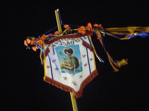 festivalis, vėliava, saint, Jonas, naktis, šventė šv. Jonas