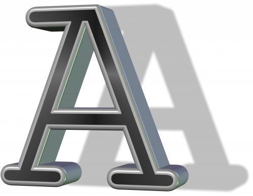 3d, juoda, raidė & nbsp, šešėlis, kurjerį, reguliariai, izoliuotas, balta & nbsp, fonas, tekstas, simbolis, menas, 3d kurjerio laiškas a