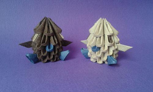 3d origami,origami,popierius