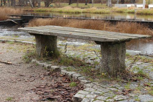 å, stendas, parkas, poilsis, poilsio stotelė, miestas, takas, vanduo, sėdėti, sėdynė, susitikimo vieta, skambučio stendas