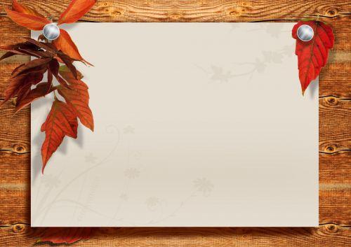 fonas, dizainas, popierius, lentos, lapai, ruduo, erdvė, popieriaus lapas ant medžio