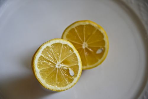 citrina, šviežias, vaisiai, sultys, geltona, limonadas, izoliuotas, balta, supjaustytas citrina