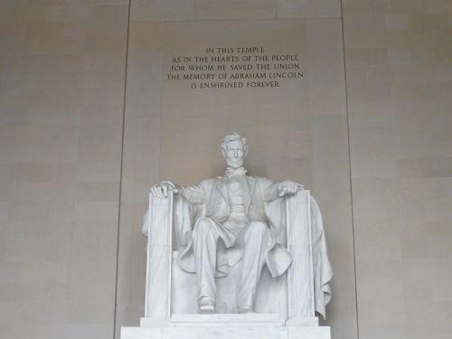 abraamo lincolno paminklas,Vašingtonas,paminklas,Abraham,Lincoln,skulptūra,simbolis,akmuo,paminklas,Kolumbija,orientyras