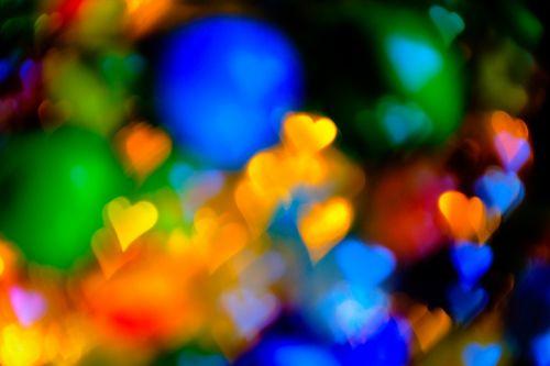 abstraktus,minkštas dėmesys,širdis,fonas,spalvingas fonas,Bokeh,minkštas,spalva,spalvinga,poveikis,neryškus,minkštas fonas,spalvotas fonas