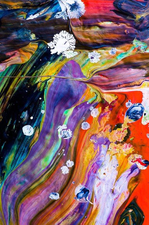 Anotacija, modernus, duomenys, spalva, kūrinys, modernus menas, tapyba, struktūra, fonas, spalvinga, menas