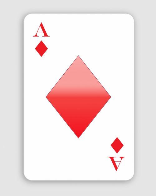 ace, deimantas, ace & nbsp, deimantai, raudona, balta, kortelė, žaisti & nbsp, kortelę, denio, menas, iliustracija, Scrapbooking, Laisvas, viešasis & nbsp, domenas, deimantų ace