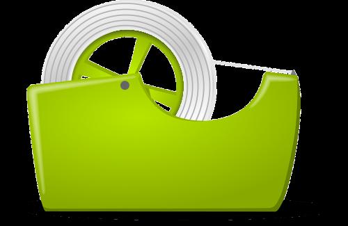 lipni juosta,juosta,biuras,volas,įrankis,parduotape,lipni juosta,žalias,nemokama vektorinė grafika
