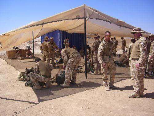 Afganistanas, mokymas, kariuomenė