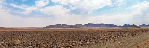Afrika, Namibija, Dykuma, Kraštovaizdis, Kalnai, Sausas, Sausas, Platus, Heiss, Gamta, Akmeninė Dykuma, Dykuma, Debesys