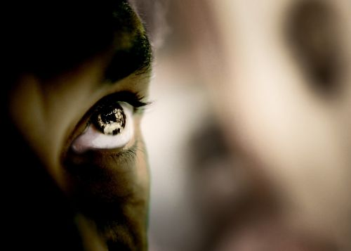 afroamerikietis,vyras,akis