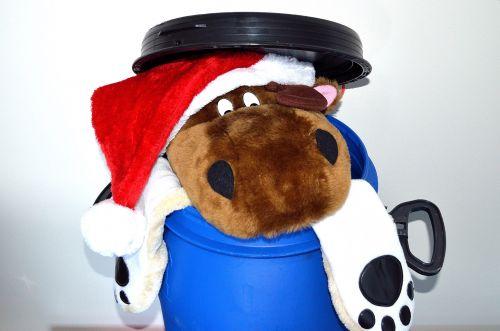 Kalėdos, po, galas, pradėti, apdaila, žaislas, skrybėlės, santa, būgnas, linksma, sezonas, fonas, po Kalėdų