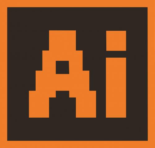 ai,iliustratorius,iliustratoriaus failas,izoliuotas,vektorinis failas,adobe,ruda,oranžinė,geometrija,pikselis,nemokama vektorinė grafika