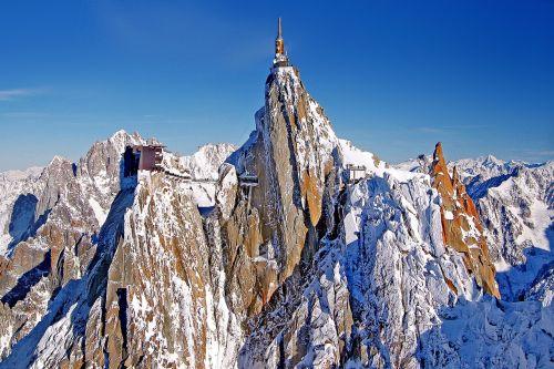 aiguille du midi,Alpių,kalnai,Chamonix,aukšti kalnai,france,sniegas,šaltas,aukštas,kraštovaizdis,žiemą,aukščiausiojo lygio susitikimas,mont blanc,kalnų stotis,sniego kalnai,sraigtasparnis,oro vaizdas