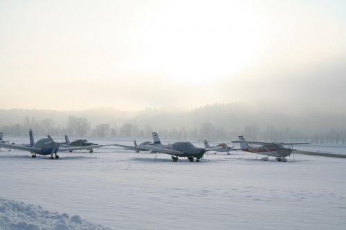 Orlaivis, Sportinis Orlaivis, Žiema, Lengvas Orlaivis, Propelerio Plokštuma, Oro Uostas, M17