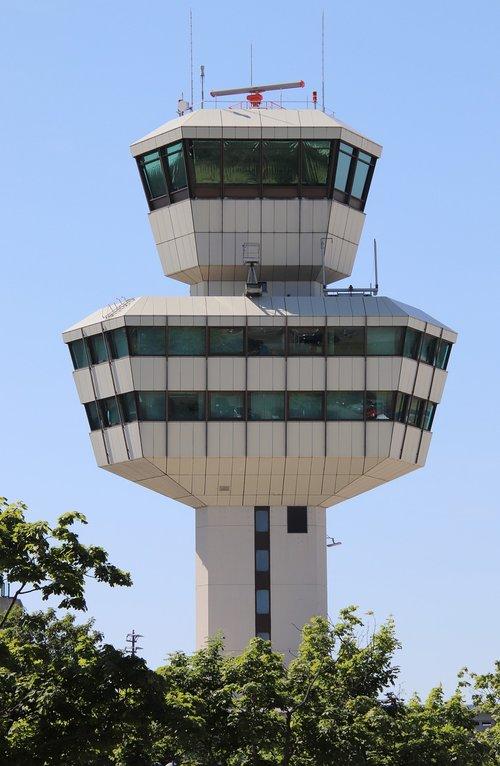 oro uostas, Berlynas, Tegel, bokštas, radaras, orlaivių, statyba, takas, oro transporto eismas, Otto Lilienthal, kelionė, eik šalin, oro eismo kontrolė, skrydis