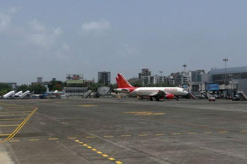 oro uostas,Mumbajus,orlaivis,oro indija,Indija