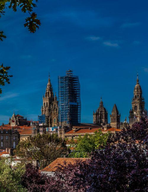 alameda,katedra,Camino,Santiago,de,Kompostela,st,james