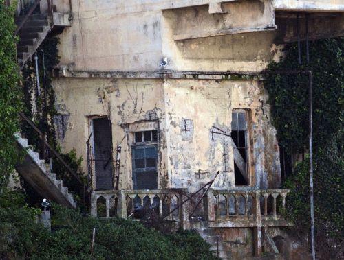 alcatraz, Grunge, kalėjimas, įkalinimas, shack, kalinimo įstaiga, San & nbsp, francisco, Rokas, alcatraz grunge pastatas
