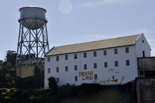 alcatraz, San & nbsp, francisco, sala, pastatas, ekskursijos, kelionė, Kalifornija, kelionė, kalėjimas, Alcatraz salos pastatas