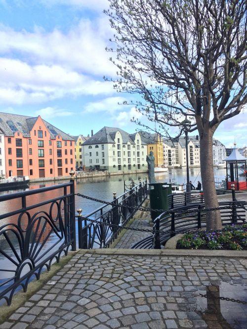 alesund,Norvegija