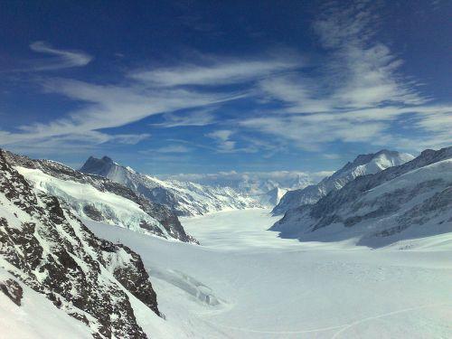 aletsch ledynas konkordiaplatz,Jungfrau regionas,aletsch ledynas,ledynas,Šveicarija
