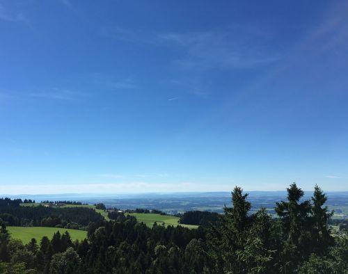 Allgäu,kraštovaizdis,Allgäu Alpės,kalnai,Alpių,Vokietija,bavarija