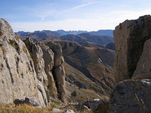 Alpes-Maritimes, Mont Mouniero Pakilimas, Žiūrėti