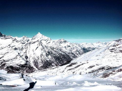 Zermatt,  Valais,  Šveicarija,  Swiss Alps