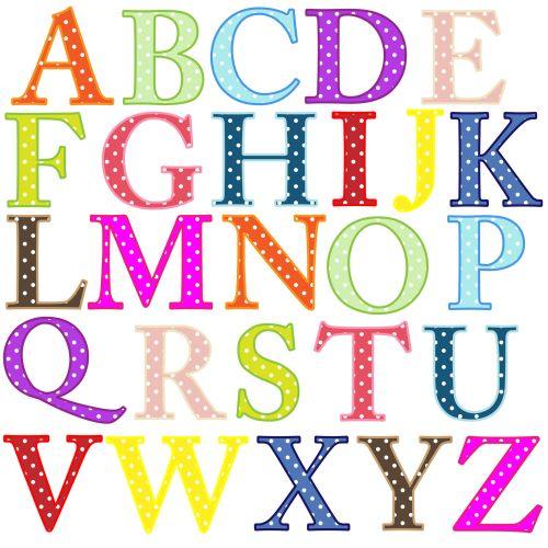 abėcėlė, raidės, abėcėlė & nbsp, raidės, a-z, spalvinga, polka & nbsp, taškų, taškai, dėmės, iliustracija, Iliustracijos, Scrapbooking, abėcėlės raidės klipas-menas