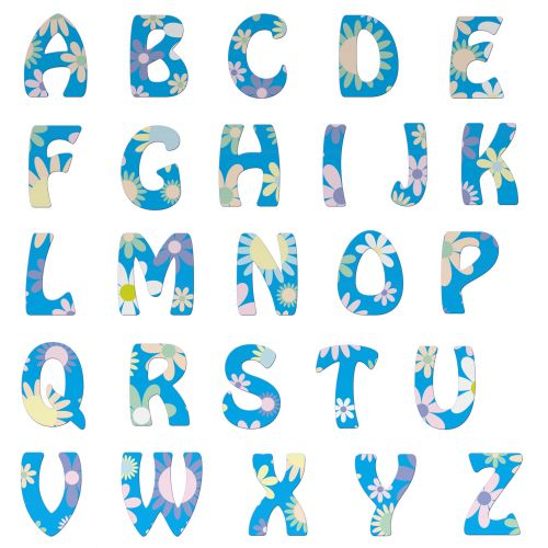abėcėlė, raidės, abėcėlė & nbsp, raidės, šrifto, tekstas, laiškas, a-z, kapitalas, gėlių, gėlės, graži, menas, iliustracija, linksma, izoliuotas, balta, fonas, Laisvas, viešasis & nbsp, domenas, kapitalo & nbsp, raidė, kapitalo & nbsp, raidės, abėcėlės raidės gėlių