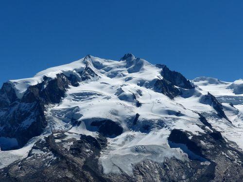 Alpių, Monte Rosa, Šveicarija, Zermatt