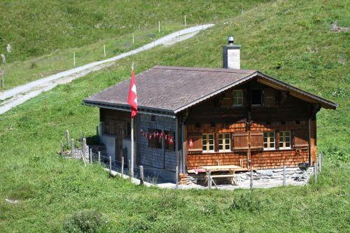 Alpių namelis,Meiringenas,kalnai,Alpių,Alpių takas,gamta,vasara,Berner,dangus,berni oberland,Alpės,Šveicarija,kraštovaizdis,žygiai,saulės spindulys
