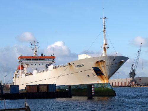 gintaras,laivas,uostas,Amsterdamas,Nyderlandai,transportas,kroviniai,kroviniai
