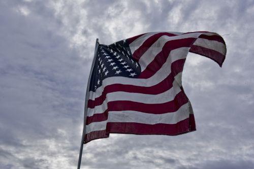 vėliava, amerikiečių & nbsp, vėliava, žvaigždės & nbsp, juostelės, usa & nbsp, vėliava, išvyniotas, Amerikos vėliava