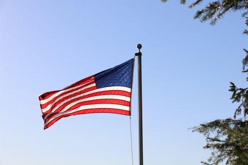 Amerikos vėliava,patriotinis,vėliava,usa,laisvė,plaukiojantys,amerikietiška vėliava plaukioja