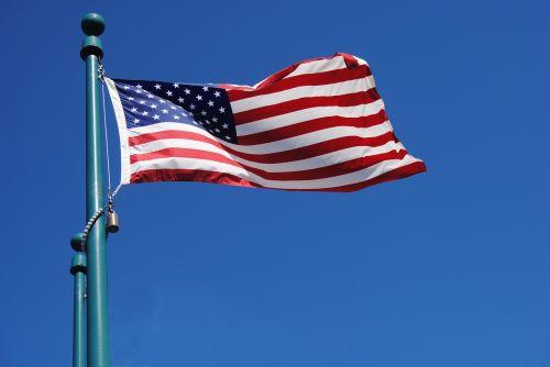 amerikiečių vėliavos,Šalis,tauta,vėliavos,amerikietis,Jungtinės Valstijos,patriotizmas,patriotas,dangus,vėjas