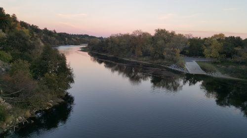 Amerikos upė,Kalifornijos upė,sakramento,amerikietis,Kalifornija,upė,vanduo,gamta